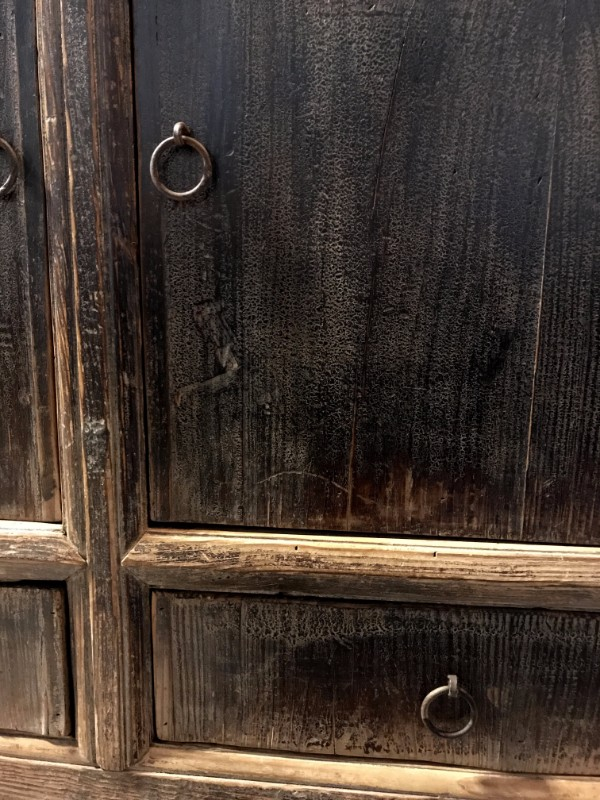 Antiek dressoir met deurtjes en lades. Antiek dressoir te koop ...