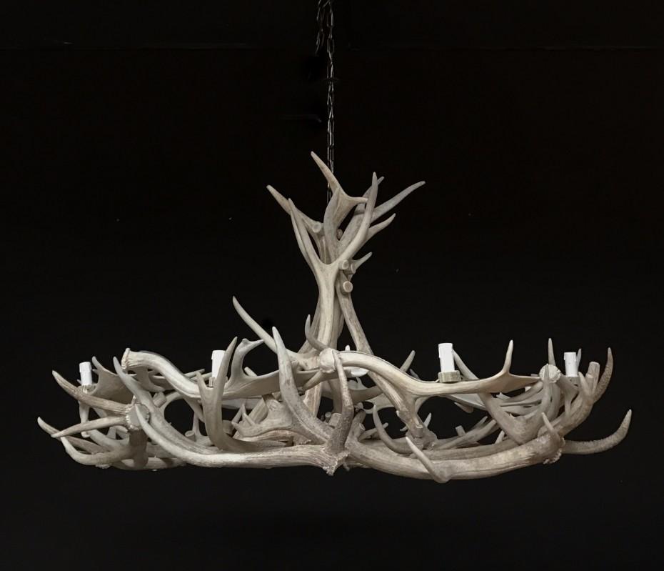 Gewei lamp lamp gemaakt van geweien gewei kroonluchter for Lamp gewei