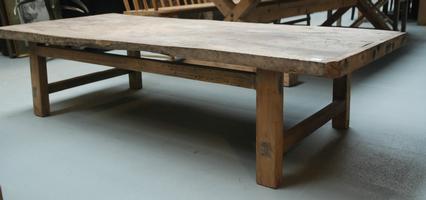 Old wood salontafel