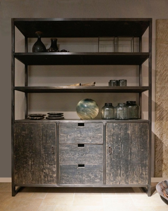 Wonderbaarlijk KT 135, Vintage wall cupboard - De Jong Interieur - Recent Added SO-82