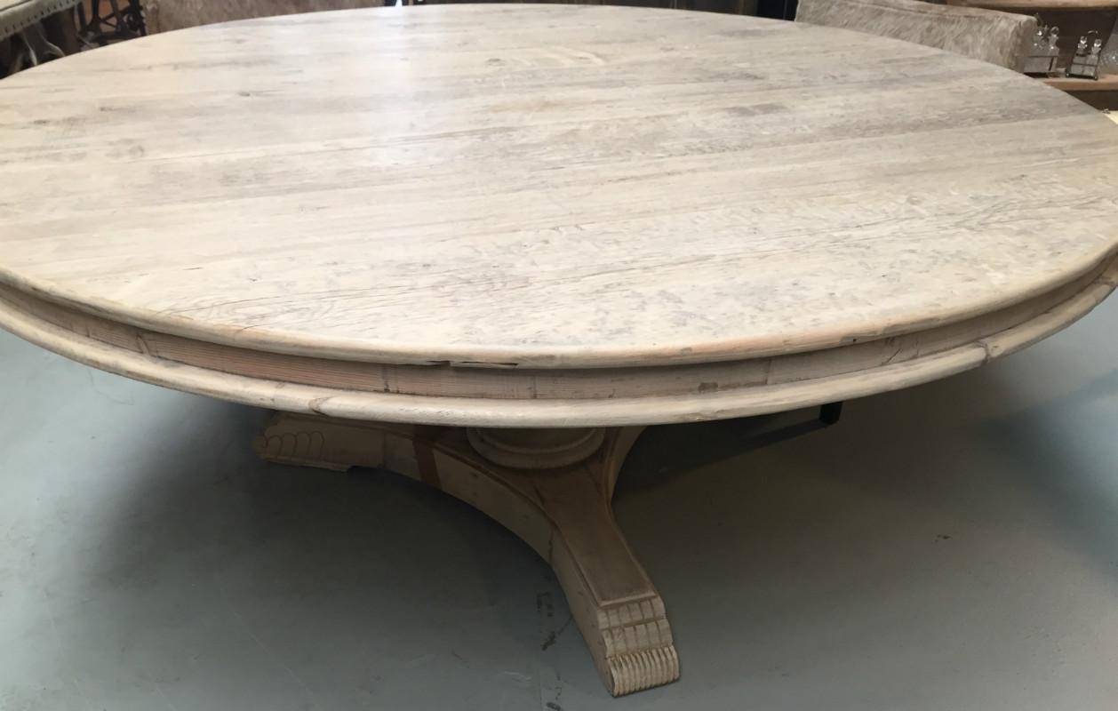 Ronde tafels afmetingen ronde teak tafels verschillende afmetingen teakmeubelen - Grote ronde houten tafel ...