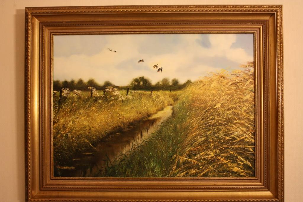 Schilderijen jacht en natuur schilderij van jacht decoratie artikelen landelijke - Decoratie interieur trap schilderij ...
