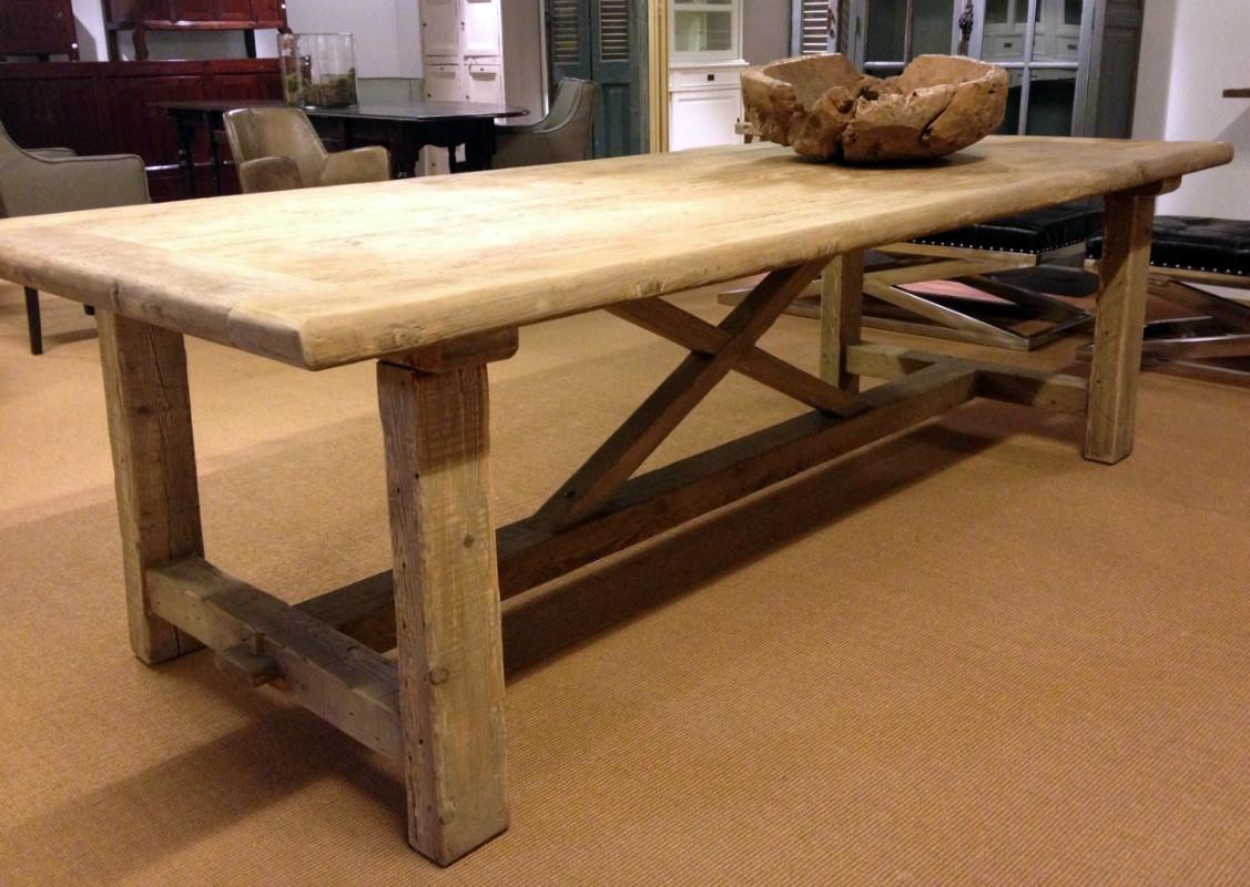 Houten tafel tafel van oud hout antieke tafels tafels for De beukenhof antiek en interieur