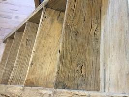 Unieke antieke houten trap de trap is in perfecte staat