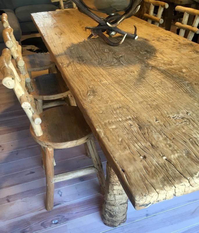 Zeer unieke grote rustieke tafel antieke tafels tafels van oud hout landelijke tafels de - Zeer grote eettafel ...